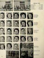 1953 Houston High School Yearbook Page 34 & 35