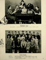 1953 Houston High School Yearbook Page 54 & 55