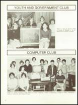 1981 Minerva-Deland High School Yearbook Page 56 & 57