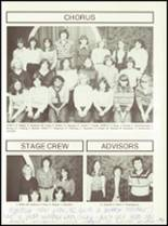 1981 Minerva-Deland High School Yearbook Page 58 & 59