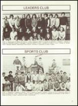 1981 Minerva-Deland High School Yearbook Page 60 & 61