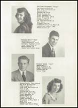 1947 Edgewater High School Yearbook Page 12 & 13