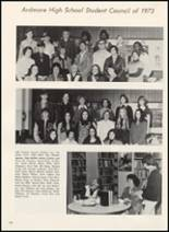 1973 Ardmore High School Yearbook Page 110 & 111