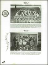 1989 Panama High School Yearbook Page 50 & 51