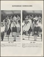 1967 Whitesboro High School Yearbook Page 100 & 101