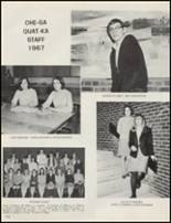1967 Whitesboro High School Yearbook Page 114 & 115