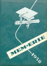 1958 Yearbook Erie High School