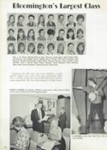 1967 Bloomington High School Yearbook Page 94 & 95