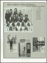 1983 Midwood High School 405 Yearbook Page 110 & 111