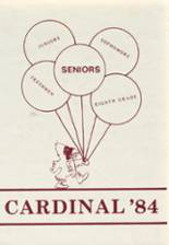 1984 Yearbook Langdon Junior-Senior High School