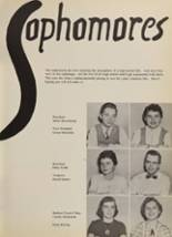 1956 Bishop Baraga High School Yearbook Page 24 & 25