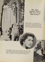 1956 Bishop Baraga High School Yearbook Page 40 & 41