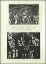 1952 Madison Central High School Yearbook Page 54 & 55