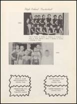 1957 Vera High School Yearbook Page 34 & 35