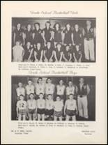 1957 Vera High School Yearbook Page 38 & 39