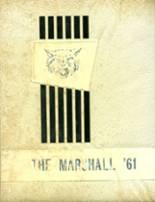 1961 Yearbook Marshall County High School