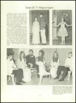 1971 R. B. Stall High School Yearbook Page 46 & 47
