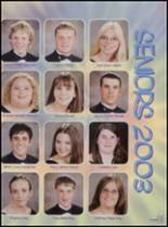 2003 Viola High School Yearbook Page 38 & 39