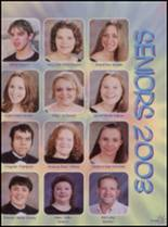 2003 Viola High School Yearbook Page 40 & 41