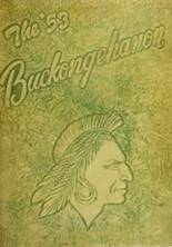 1953 Yearbook Buckhannon - Upshur High School