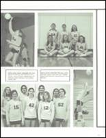 1974 Maine North High School Yearbook Page 110 & 111