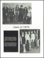 1974 Maine North High School Yearbook Page 122 & 123