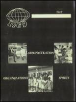 1969 Booker T. Washington High School Yearbook Page 10 & 11