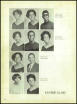 1969 Booker T. Washington High School Yearbook Page 40 & 41
