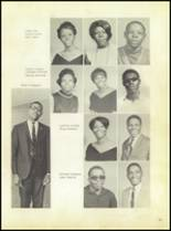 1969 Booker T. Washington High School Yearbook Page 44 & 45