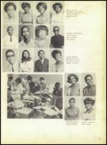 1969 Booker T. Washington High School Yearbook Page 56 & 57