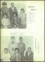 1969 Booker T. Washington High School Yearbook Page 58 & 59