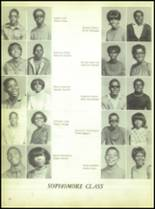 1969 Booker T. Washington High School Yearbook Page 62 & 63