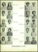 1969 Booker T. Washington High School Yearbook Page 64 & 65