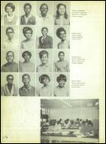 1969 Booker T. Washington High School Yearbook Page 70 & 71