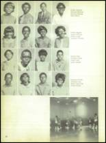 1969 Booker T. Washington High School Yearbook Page 72 & 73