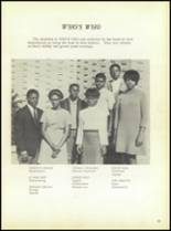 1969 Booker T. Washington High School Yearbook Page 98 & 99