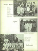 1969 Booker T. Washington High School Yearbook Page 100 & 101