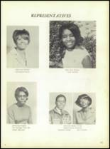 1969 Booker T. Washington High School Yearbook Page 104 & 105