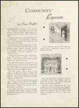 1935 Dodge City High School Yearbook Page 22 & 23