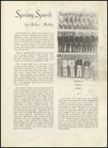 1935 Dodge City High School Yearbook Page 30 & 31