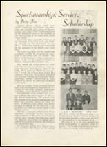 1935 Dodge City High School Yearbook Page 32 & 33