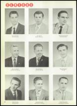 1959 Macomber Vocational High School Yearbook Page 14 & 15