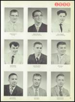 1959 Macomber Vocational High School Yearbook Page 20 & 21