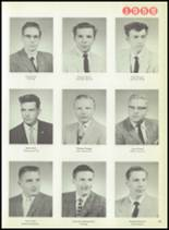 1959 Macomber Vocational High School Yearbook Page 24 & 25