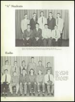 1959 Macomber Vocational High School Yearbook Page 132 & 133