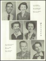 1955 Baird High School Yearbook Page 12 & 13