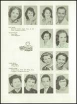 1955 Baird High School Yearbook Page 34 & 35
