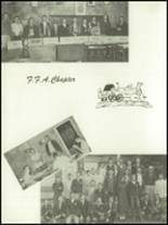 1955 Baird High School Yearbook Page 50 & 51