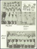 1955 Baird High School Yearbook Page 54 & 55