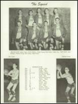 1955 Baird High School Yearbook Page 66 & 67